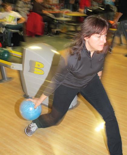 Dynamik auch beim Bowling